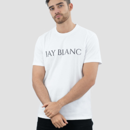 Organic Cotton T-Shirt made in Portugal Jay Blanc classic Logo