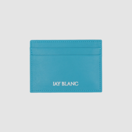 Turquoise card holder louis vuitton blue by jay blanc