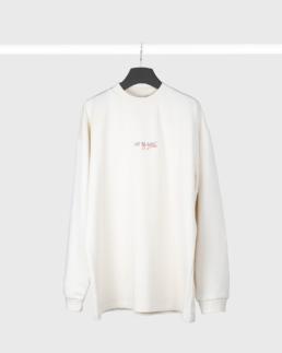 Jay Blanc La Divina Sweatshirt off white vintage print